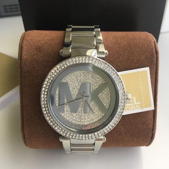 15c42d2547d9 BRAND NEW Michael Kors Silver Ladies Watch MK5925